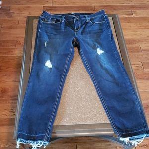 Dark blue Jeans skinny mid rise